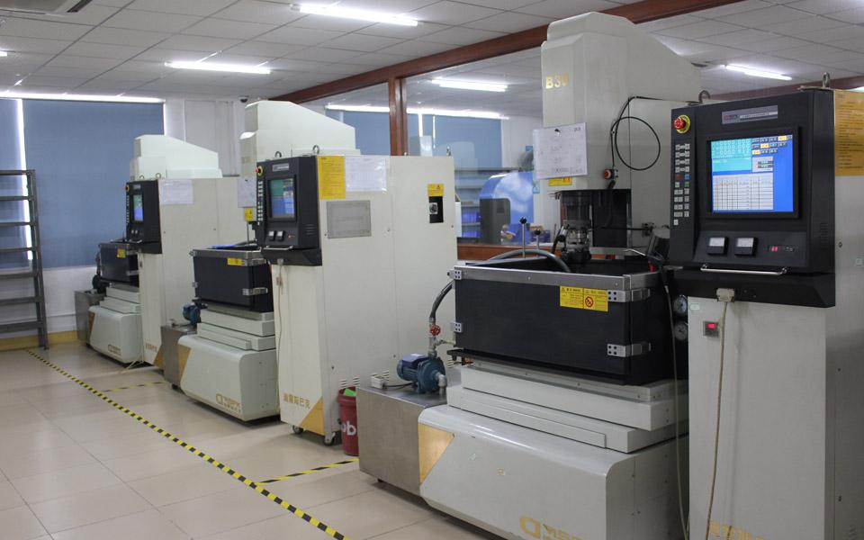 Mirror EDM machine - HZ Technology